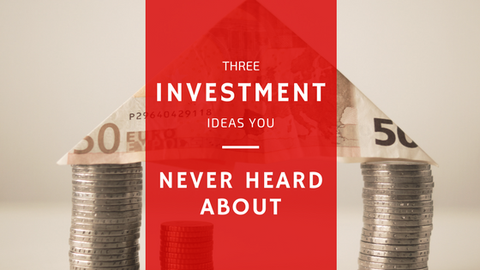 Three Investment Ideas You Never Heard About [557 Words] - article > 500 - Article Blizzard