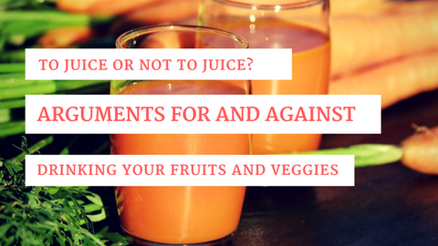 To Juice or Not to Juice? Arguments for And Against Drinking Your Fruits and Veggies [714 Words] - article > 700 - Article Blizzard