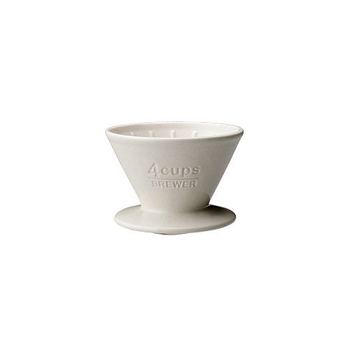 SCS-04-BR BREWER 4CUPS WHITE