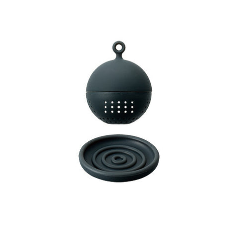 FLOATING TEA STRAINER BLACK