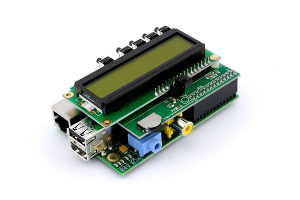 PIFACE I/O BOARD WITH LCD DISPLAY