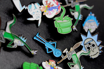 Rick & Morty Pins