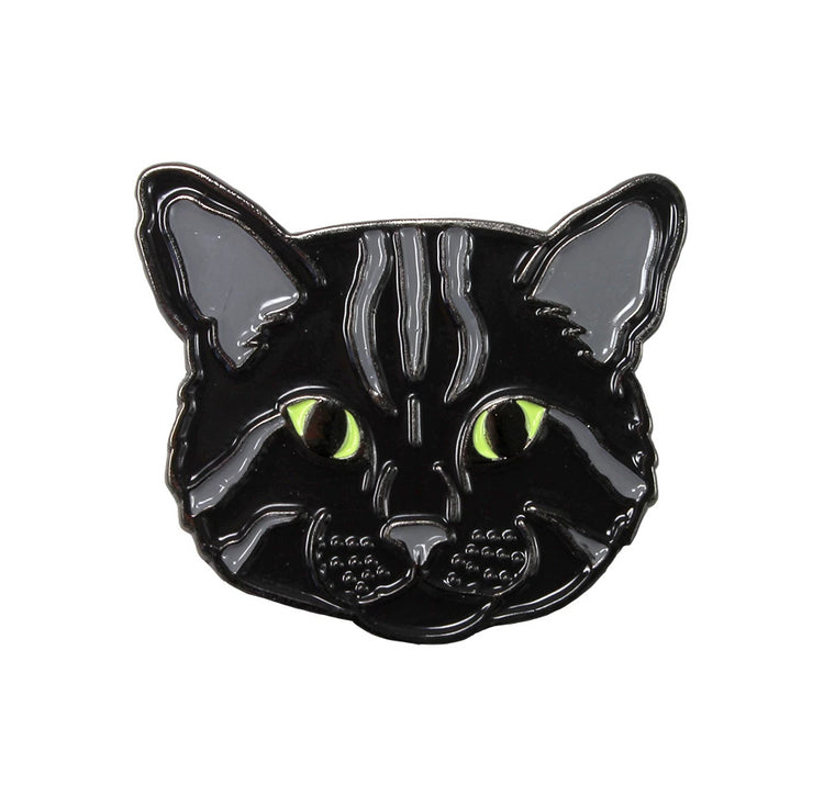 The Black Cat Pin Pet