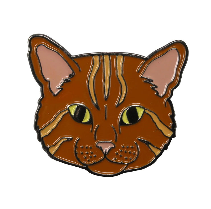 The Orange Cat Pin Pet