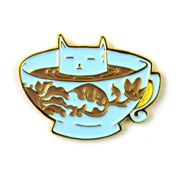 The Coffee Cat Pin