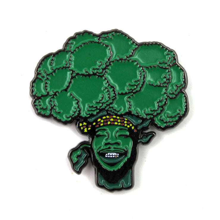 The 'Sing Brocoli' Pin