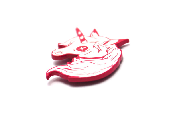 The Ghost Unicorn Pin