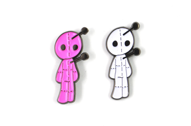 The Voodoo Doll Pin Set