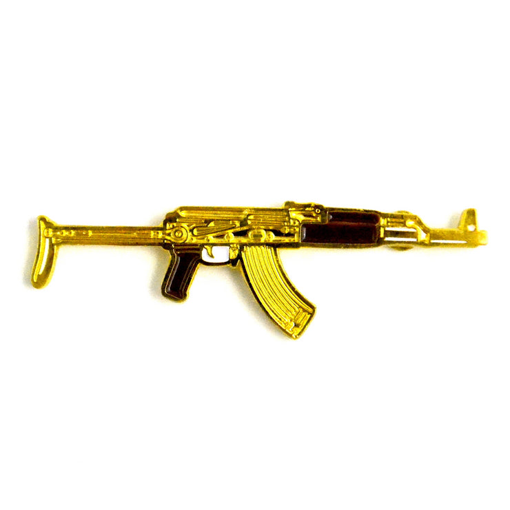 The Gold AK47 Pin