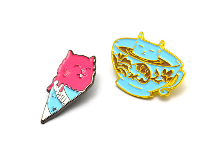 The Cat Pin Set