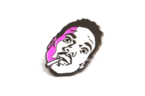 The Pink Acid Rapper Pin