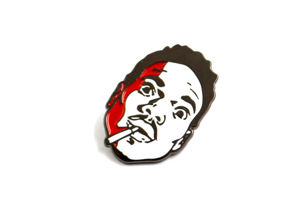 The Red Acid Rapper Pin