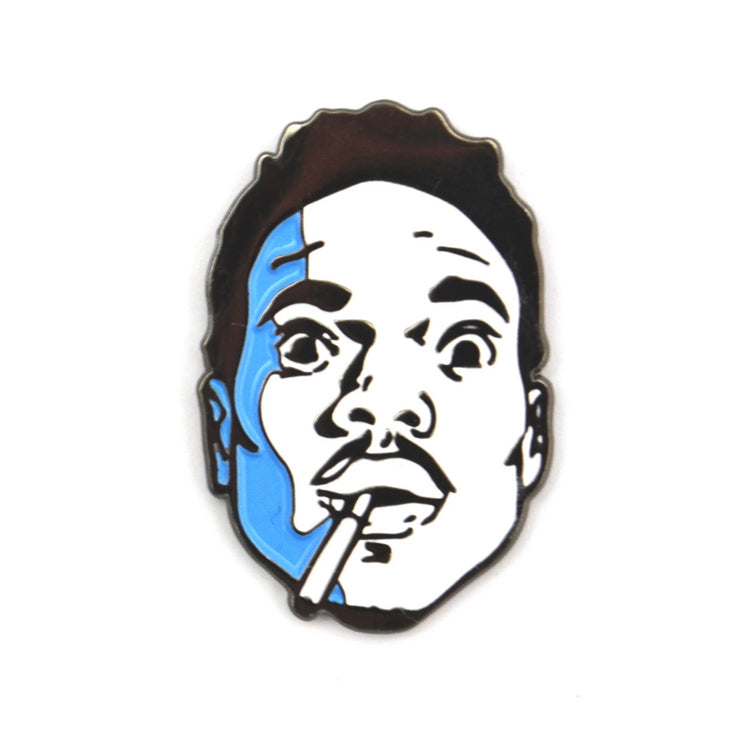 The Blue Acid Rapper Pin