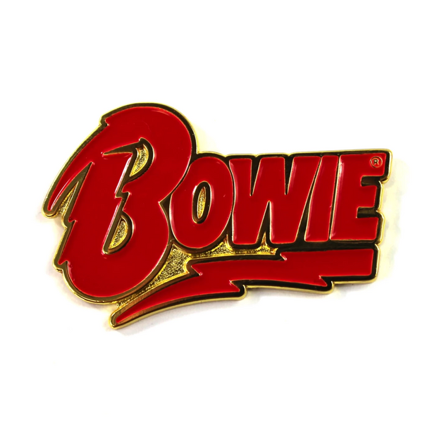 The David Bowie x Sloth Steady Logo Pin