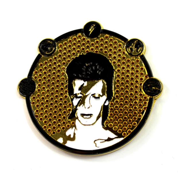 The David Bowie x Sloth Steady Stardust Pin