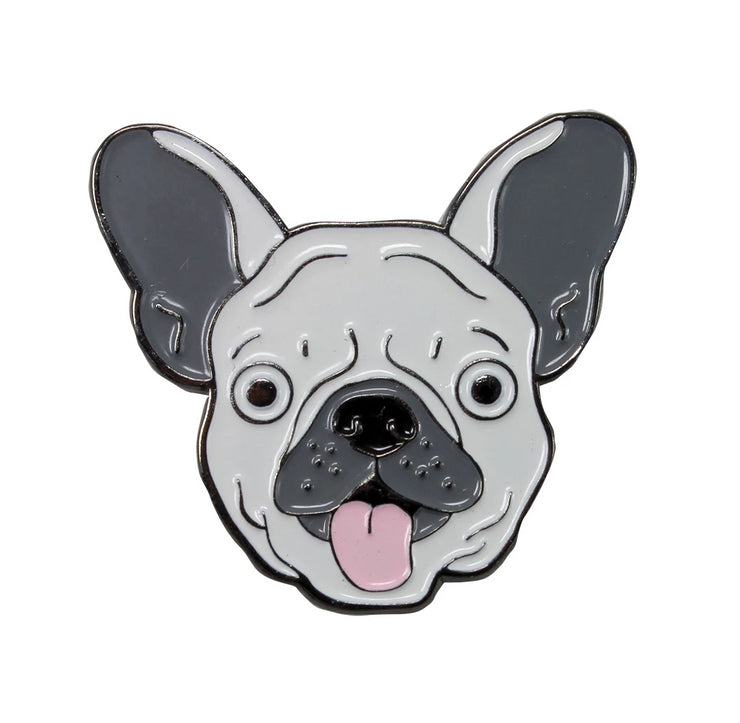 The White Frenchie Pin Pet