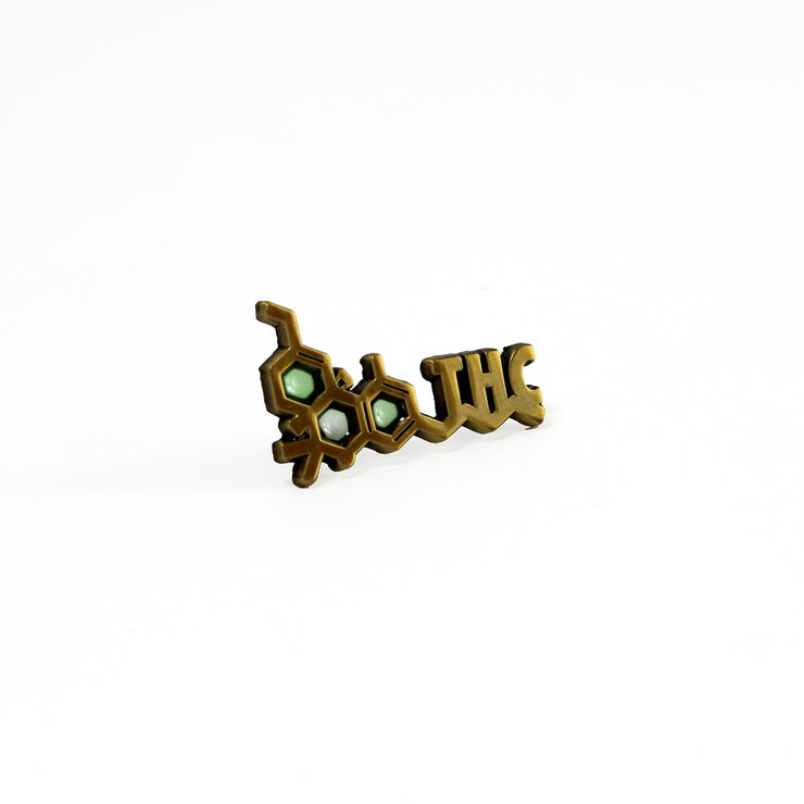 The THC Pin in Gold