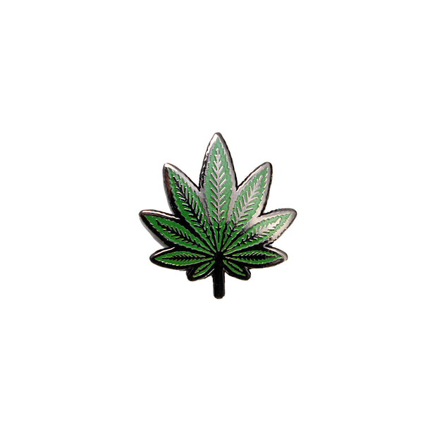 The Pot Leaf Pin Set
