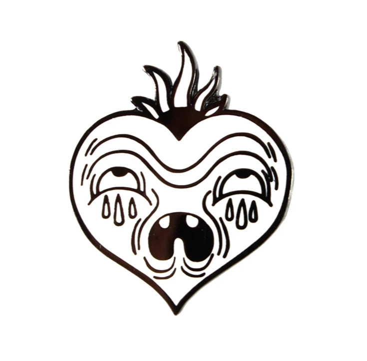 The Love Hurts Pin by Junkyard