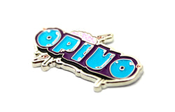The Official Opiuo 'Live Band Logo' Pin