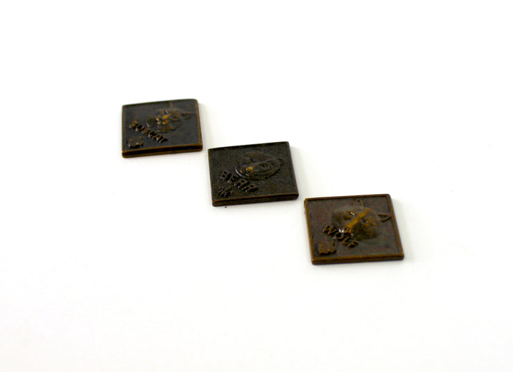 The '3 Kings of the Forest' Vintage Pin Trio
