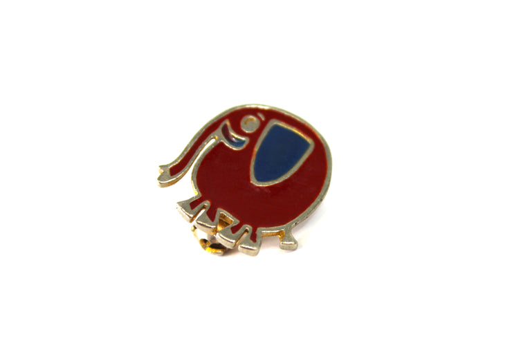 The 'Smiling Elephant' Vintage Pin
