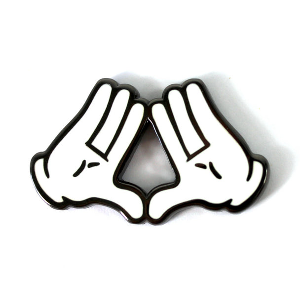 The Illuminati Hands Pin
