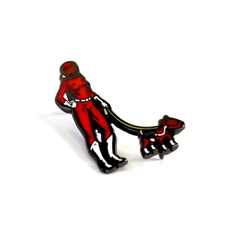 The Morning Walk on Mars Pin