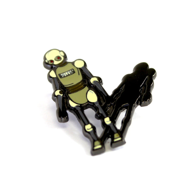 The Do Less Robot Pin