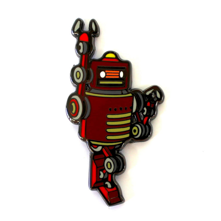 The Robot Hero Pin