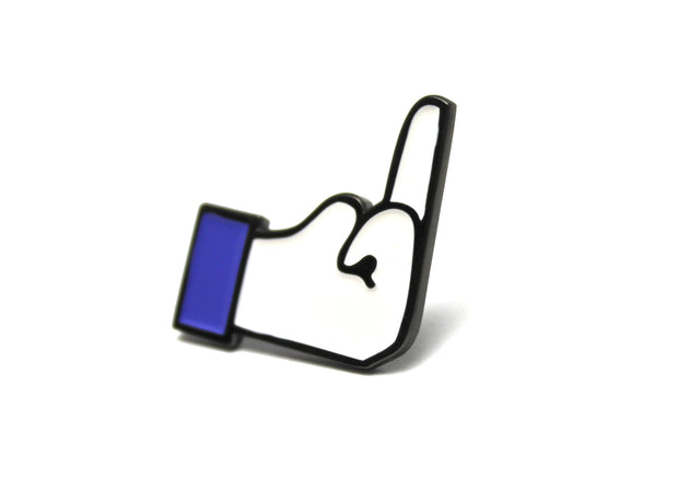 The Fuck Your Likes Pin