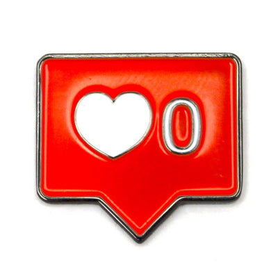 The Zero Likes Given Pin