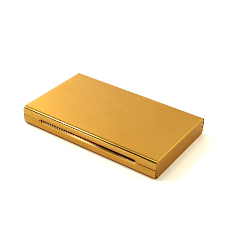 The Middle Finger Joint Case in Gold