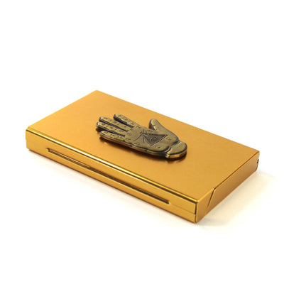 The Illuminati Hand Joint Case in Gold