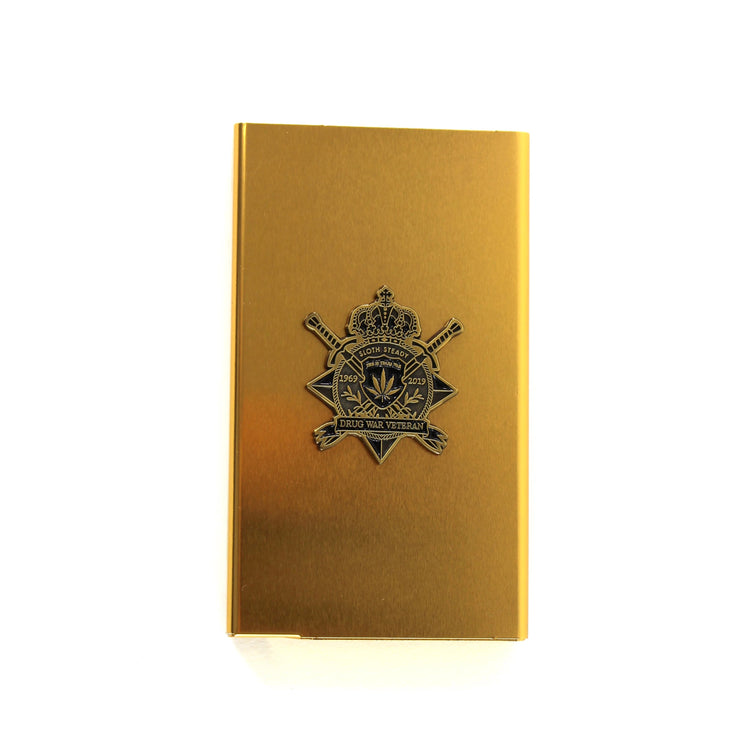 The Drug War Veteran Joint Case in Gold