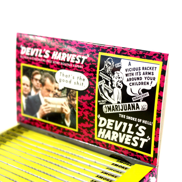The Devil's Harvest Rolling Papers - 50 Pack