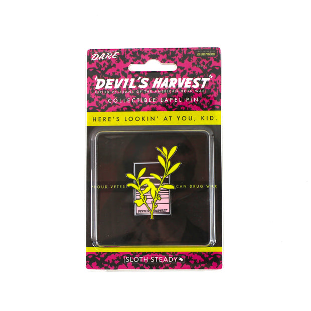 The Devil's Harvest Killer Crop Pin