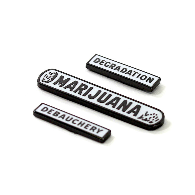 The Devil's Harvest Degradation Pin Set