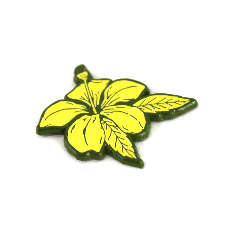 The Green Hibiscus Pin