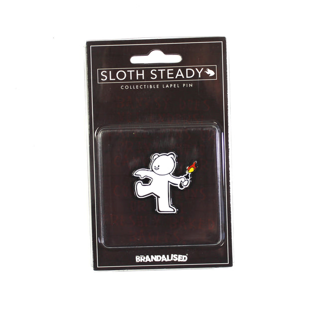 The Molotov Teddy Bear Pin