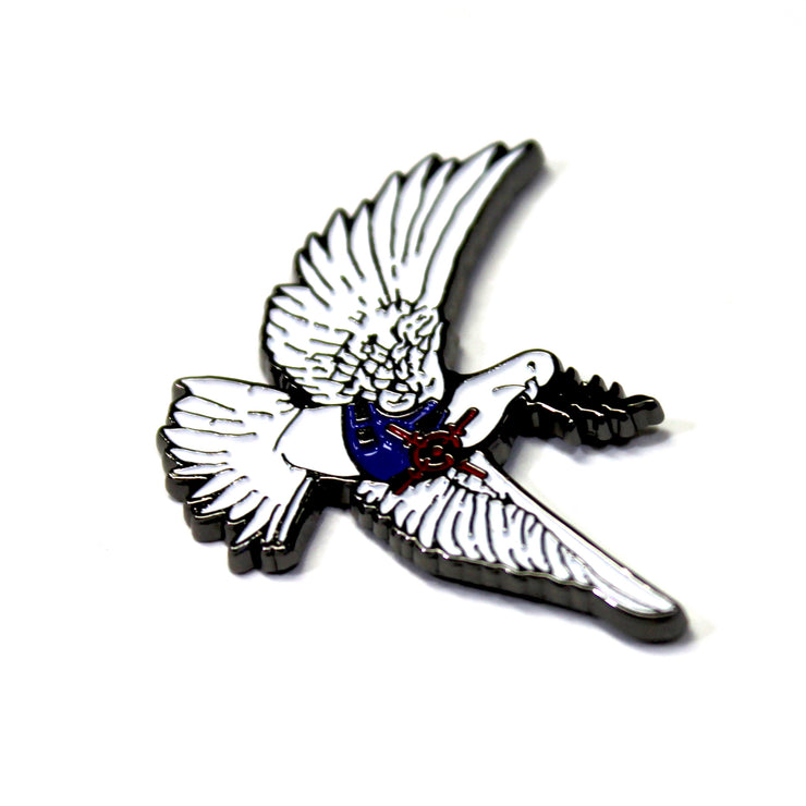 The Bullet Proof Dove Pin
