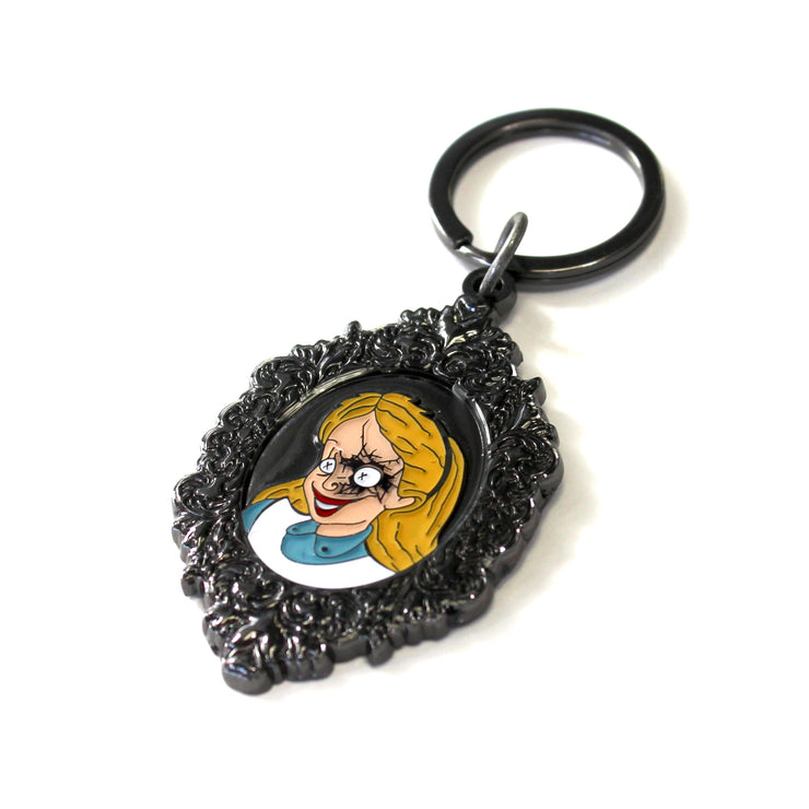 The Malice in Wonderland Keychain