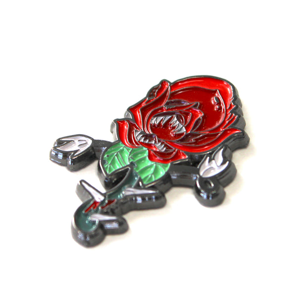 The Carnivorous Rose Pin