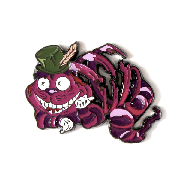 The Cheshire Cat Pin