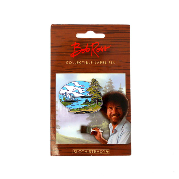 The Bob Ross Mountain View Pin