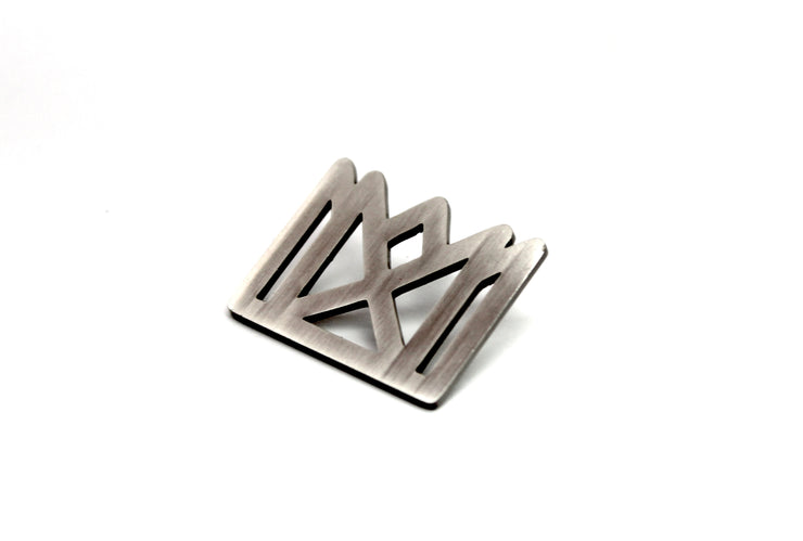 The CAKE 'Crown Logo' Pin