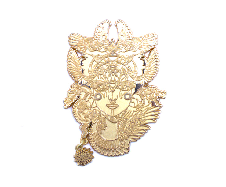The Dharma Dragon 24k Gold Raw Proof #1/5