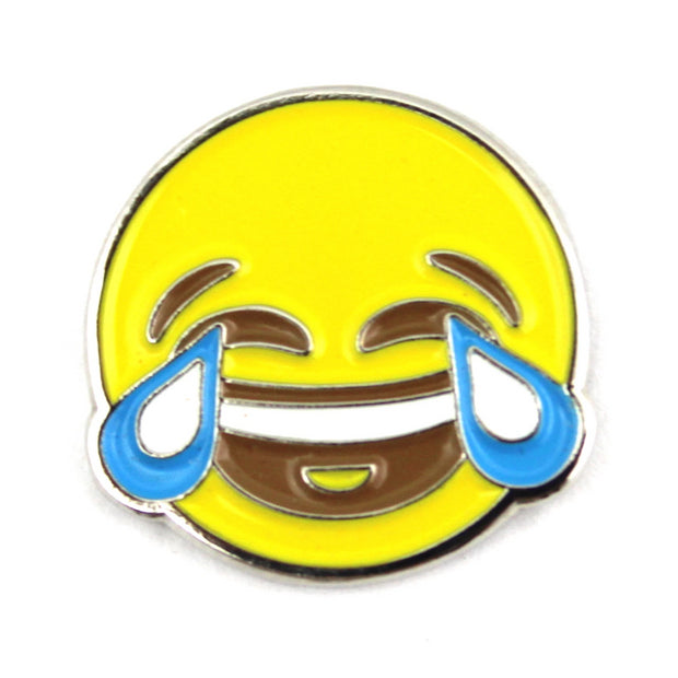 The Tears of Joy Emoji Pin