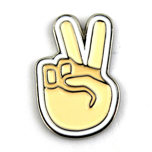 The Peace Sign Emoji Pin
