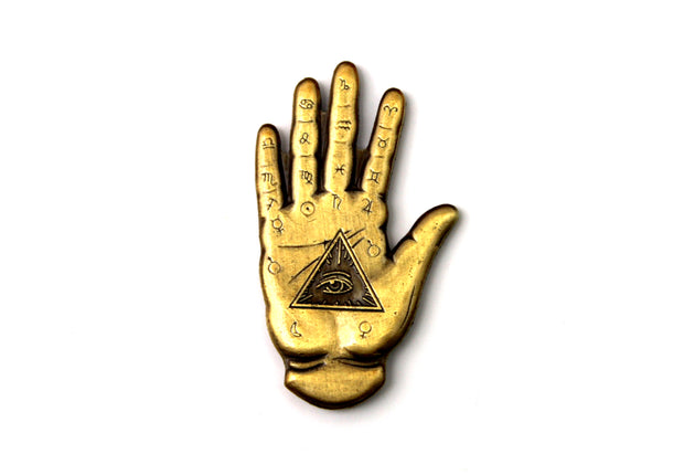 The Fortune Teller's Hand Pin